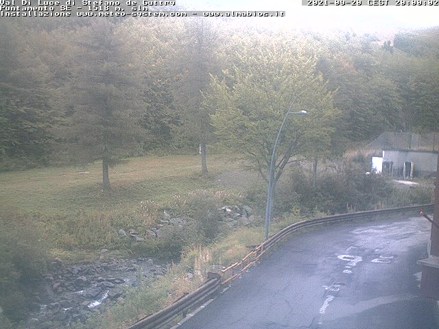 Webcam tracks down Val di Luce